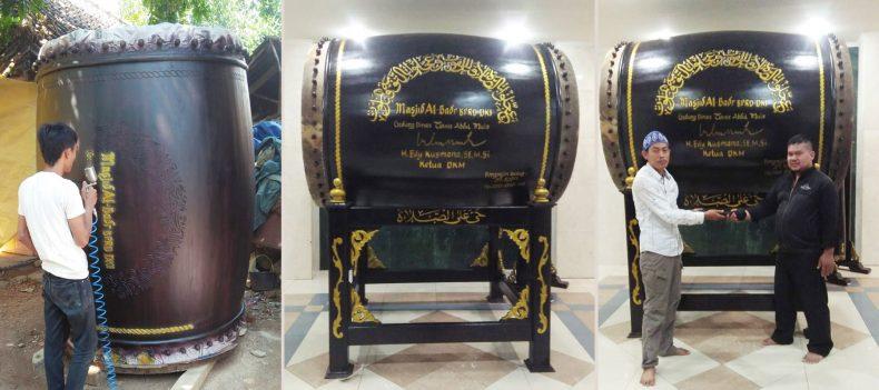 Bedug Masjid Al-Badr BPRD DKI Jakarta
